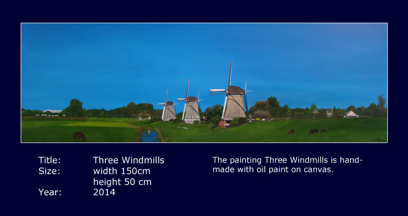 Sprookjesverhalen-Three Windmills