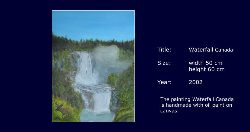 Sprookjesverhalen-Waterfall