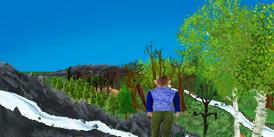 Sprookjesverhalen- Tron-verkent-de-omgeving